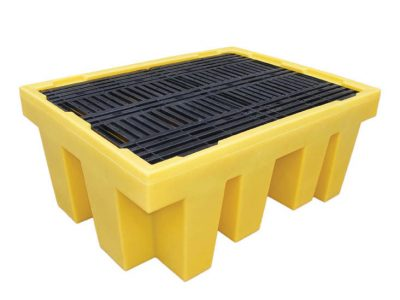 1 x 1000ltr IBC Spill Pallet with removable deck - BCBB1