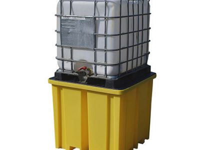 IBC Spill Pallet with 4 way FLT access for 1 x 1000ltr IBC - BCBB1FW