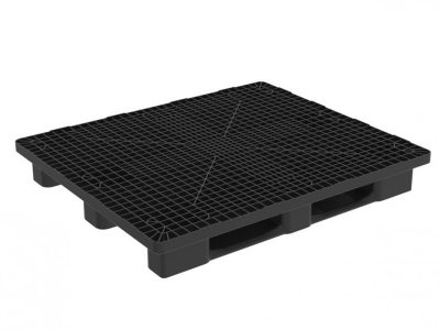 HEAVY MONOBLOC 1300X1100 PALLET WITH 3 RUNNERS