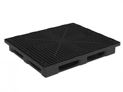 HEAVY MONOBLOC 1300X1100 PALLET WITH 5 RUNNERS
