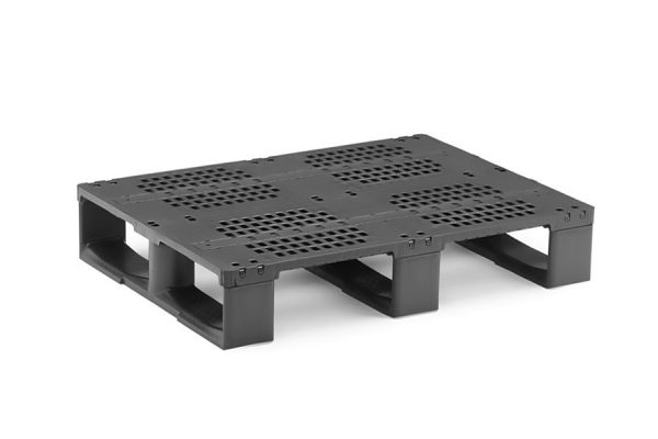 LOW HEIGHT REINFORCED REPAIRABLE HALF PALLET